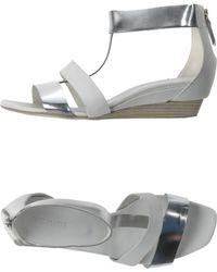 Vic Matie' Sandals gray - Lyst