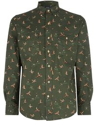 Polo Ralph Lauren Pheasant Printed Shirt - Lyst