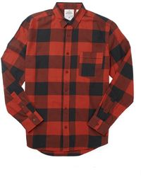 Cheap Monday Neo Flannel Shirt In Check - Lyst