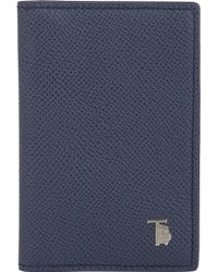 Tod's Folding Card Case - Lyst