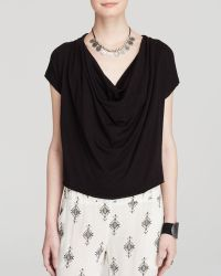 Free People Tee - Fantasy Jersey Cowl - Lyst