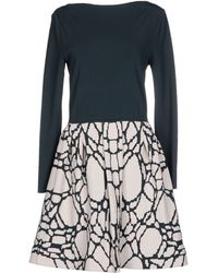 Antonino Valenti Short Dress - Lyst