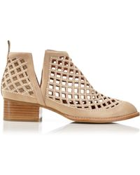 Jeffrey Campbell - Taggart Open Weave Booties - Lyst