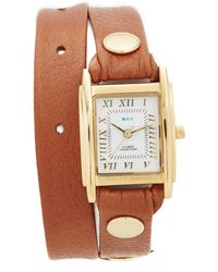 La Mer Collections - Leather Strap Wrap Watch - Lyst
