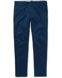J.Crew 484 Slimfit Washedcotton Trousers - Lyst