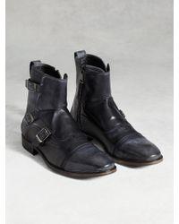 John Varvatos   Fleetwood Triple Monk Boot   Lyst