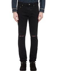 Saint Laurent Stretch Skinny Jeans - Lyst