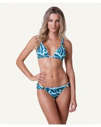 ViX Shell Bia Tube Top blue - Lyst
