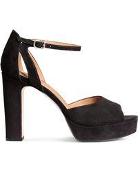 H&M | Platform Sandals | Lyst