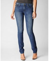 True Religion Cora Mid Rise Straight Womens Jean - Lyst