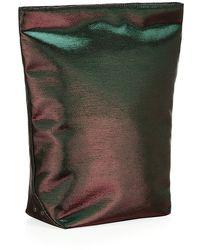 Jil Sander Foldable Metallic Pouch - Lyst