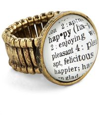 Zad Fashion Inc. | Definition Of Delight Ring | Lyst