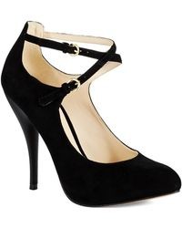 Nine West Black Cohearent Heels - Lyst