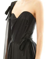 Vivienne Westwood Gold Label - Dalma Strapless Satin Gown - Lyst
