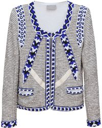 Pyrus - Union Lurex Cotton Jersey Jacket  - Lyst