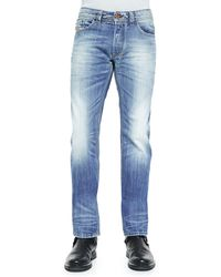 Diesel Safado 816P Faded Denim Jeans - Lyst