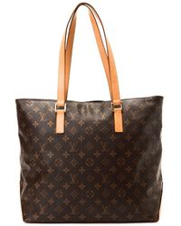 Louis Vuitton Pre-owned Cabas Mezzo - Lyst