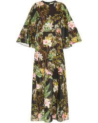 Etoile Isabel Marant Floral Voile Wanda Maxi Dress - Lyst