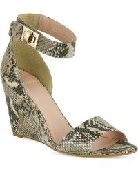 Carvela Kurt Geiger Kulprit Wedges - Lyst