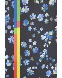 Preen Joslyn Floral-print Cotton-blend Pencil Skirt - Lyst