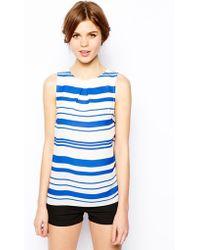 Oasis Stripe Shell Top - Lyst