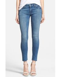 Mother 'The Looker' Skinny Jeans - Lyst