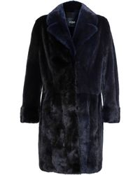 Fendi Mink Fur Coat - Lyst