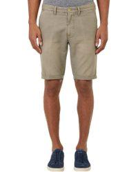 Gant Rugger Washed Canvas Shorts - Lyst