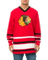 Mitchell & Ness The Chicago Blackhawks Hockey Jersey - Lyst