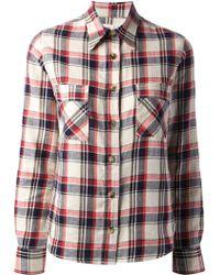 Etoile Isabel Marant Check Shirt - Lyst