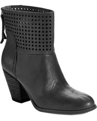 Nine West Hippy Chic Ankle Boots - Lyst
