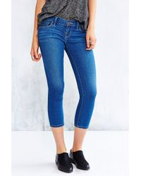 BDG   Twig Cropped Low-Rise Jean - Medium Blue   Lyst