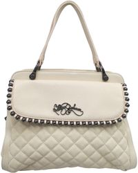 Betsey Johnson Ball and Chain Quilted Satchel - Lyst