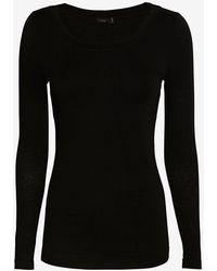 Joseph Scoop Neck Longsleeve Top - Lyst