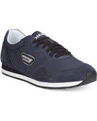 Diesel Black Jake Kursal Sneakers - Lyst