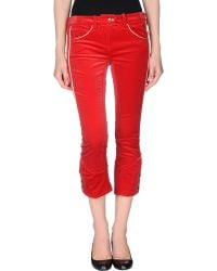 Isabel Marant 3/4-Length Trousers red - Lyst
