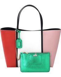 Dolce & Gabbana Color Block Shopper - Lyst