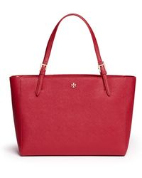 Tory Burch | 'york' Buckle Tote | Lyst