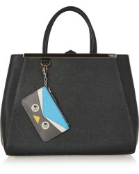 Fendi - Crayons Textured-Leather Bag Charm - Lyst