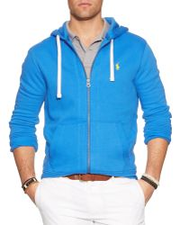 Ralph Lauren Polo Full-zip Classic Fleece Hoodie - Lyst