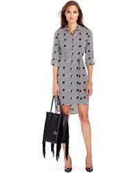 Diane von Furstenberg - Prita Silk Shirt Dress - Lyst