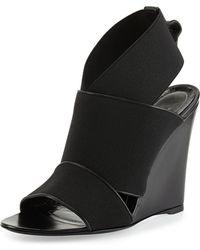Balenciaga Stretch Wedge Sandal - Lyst