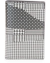Alexander McQueen Printed Leather Pocket Organizer - Lyst