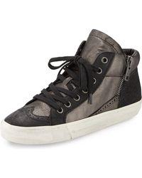 Ash Spot Double-Zip Sneaker - Lyst