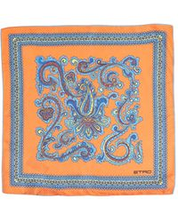 Etro Paisley Pocket Square - Lyst