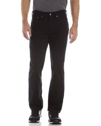 Levi's Black 514 Slim Straight Pants - Lyst