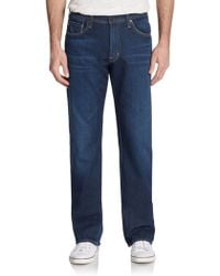 AG Adriano Goldschmied Relaxed-Fit Straight-Leg Jeans - Lyst