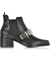McQ by Alexander McQueen Misty Metal Bar Chelsea Boot - Lyst
