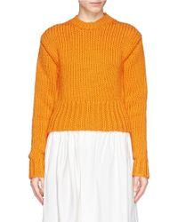 Acne Studios 'Liana' Chunky Knit Sweater - Lyst