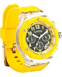 Rumbatime Mercer 45Mm Flex Watch yellow - Lyst